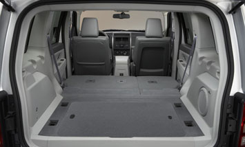 2008 Jeep Liberty   Interior