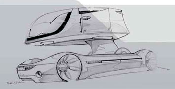 Car Design Sketch