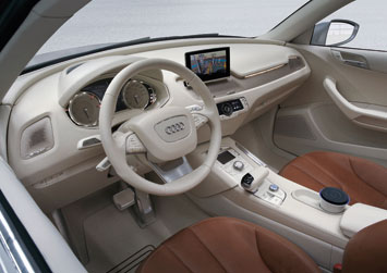 Audi Cross Coupe quattro - Interior