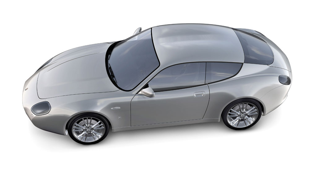 Maserati Gs Zagato Rendering Car Body Design