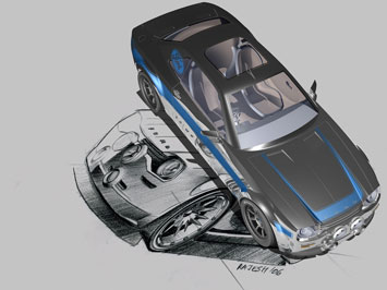 Ford Escort concept by Rajesh Kutty
