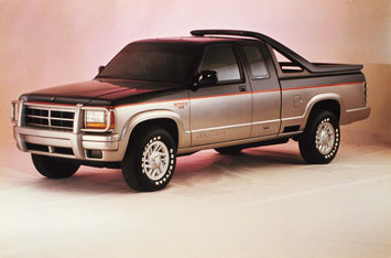 1989 Dodge Dakota V-8 Sport Concept