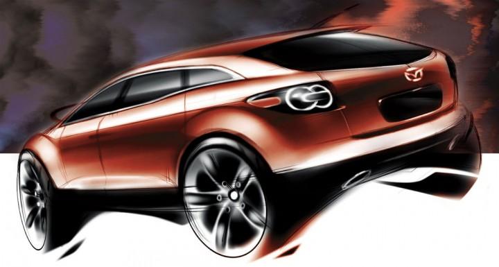Mazda MX-Crossport Concept - Car Body Design