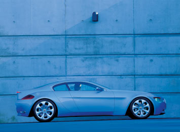 BMW Z9 Concept - side view