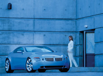 BMW Z9 Concept - 3/4 front view
