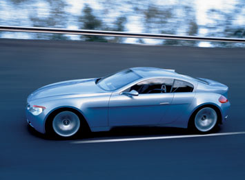 BMW Z9 Concept - on the road