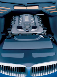 BMW Z9 Concept - engine