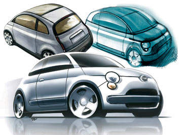fiat 500 design images car body design. Black Bedroom Furniture Sets. Home Design Ideas