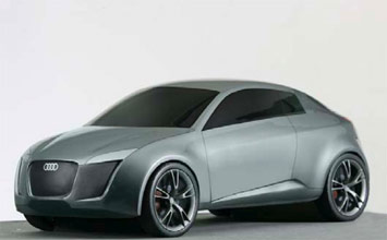 Audi concept by Manuel Borrayo and Carlos Ron Magana
