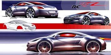 [Présentation] Le design par Peugeot Peugeot-308-RCZ-design-panel-1