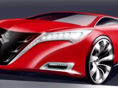 Suzuki Concept Kizashi: preview sketch