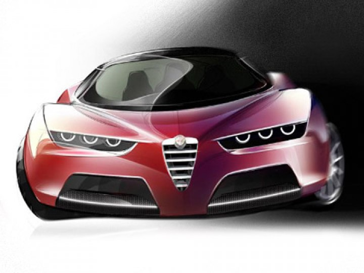 The Alfa Romeo Fascino is a concept that combines some of the