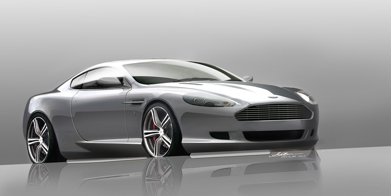 stick fan aston martin db9 win lottery sigh