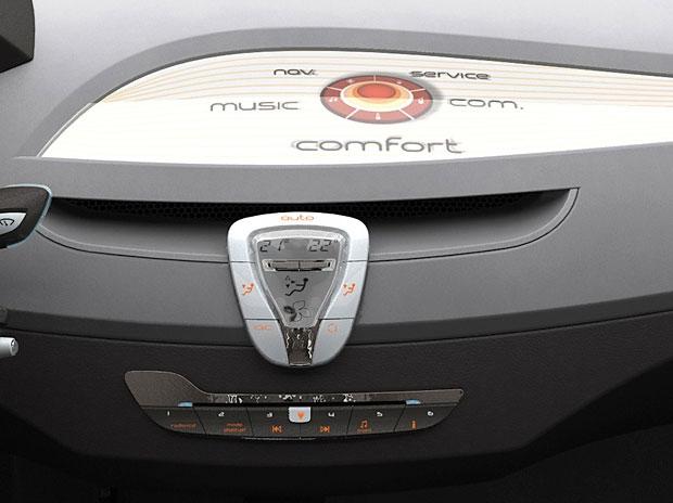 Renault Laguna Coupe Concept Interior Detail Car Body Design