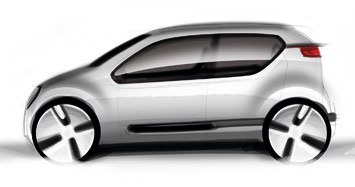 [Présentation] Le design par VW VW-Up-Concept-design-sketch-1b