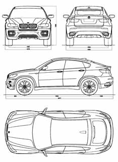 bmw concept x6 car body design. Black Bedroom Furniture Sets. Home Design Ideas