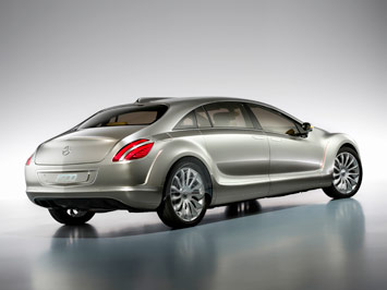 Mercedes-Benz F700 Concept - Car Body Design