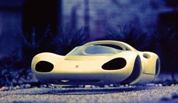 Ferrari Dino Berlinetta scale model