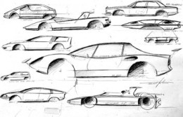 Paolo Martin Design Sketches