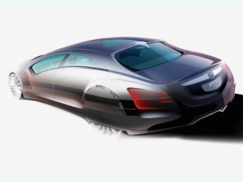 [Présentation] Le design par Mercedes _Mercedes-F700-Concept-design-sketch-1