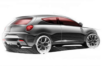Alfa Romeo Junior Sketch