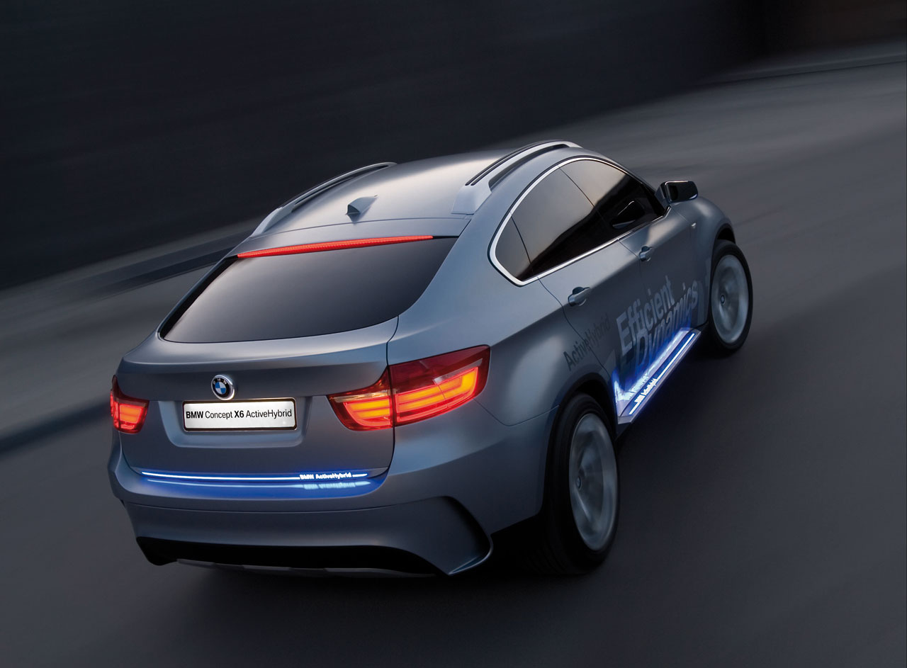 BMW active hybrid back view