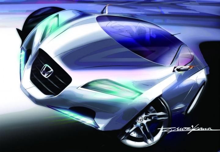 Honda Cr Z Concept Page 9 Car Body Design