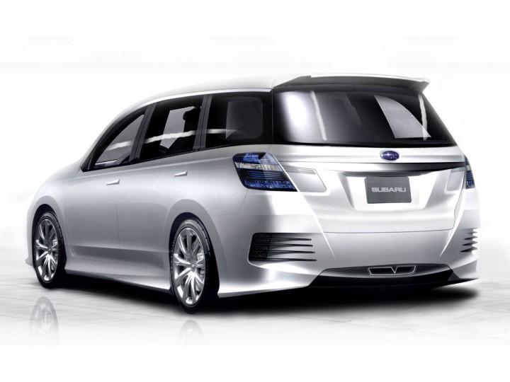 Subaru Exiga Concept Car Body Design