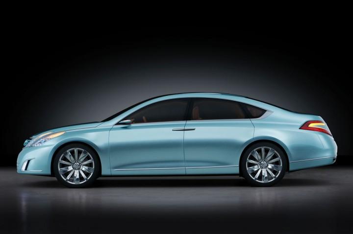 Nissan Intima Concept Car Body Design
