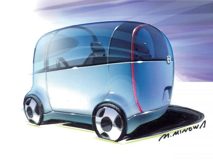 Honda Puyo Concept Page 8 Car Body Design