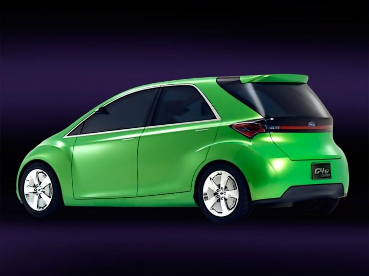 Subaru G4e Concept Car Body Design