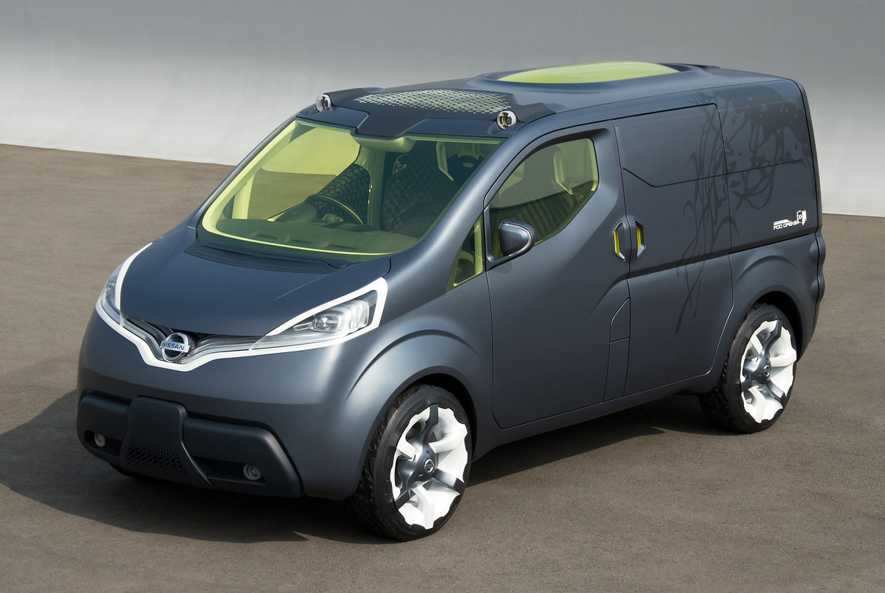 Nissan beautiful wallpaper NV200 Concept