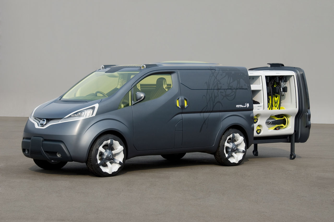 nissan nv200 concept car body design. Black Bedroom Furniture Sets. Home Design Ideas