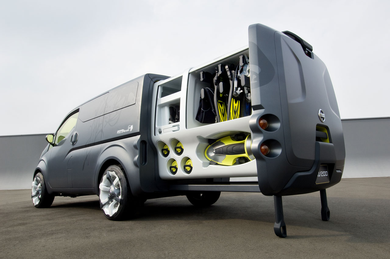 Nissan Nv2500 Preview Car Body Design