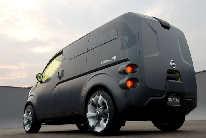 Nissan Nv200 Concept Car Body Design