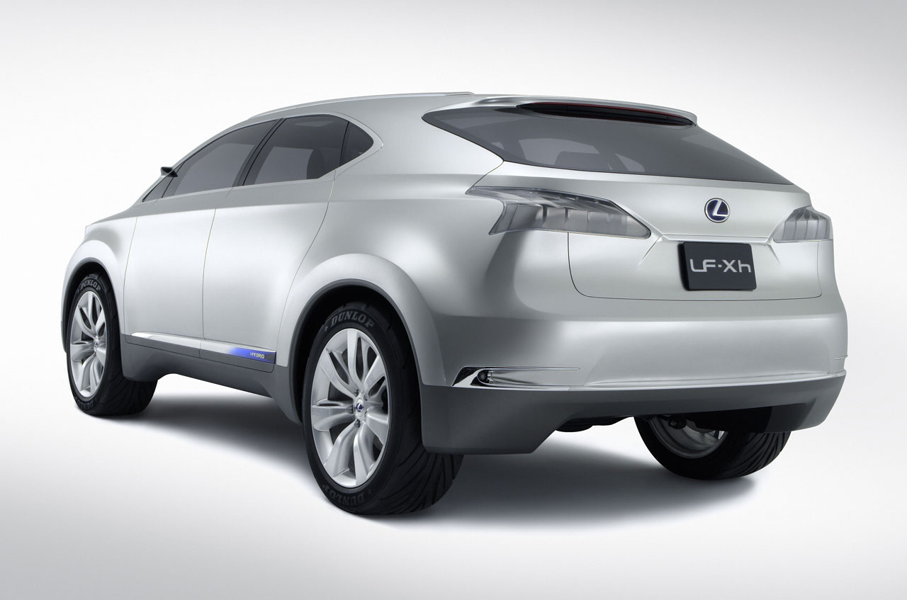 Sports Cars Fans  2010 Lexus RX coming to LA Auto Show