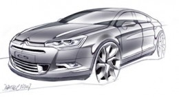 Citroen C5 Design Sketch