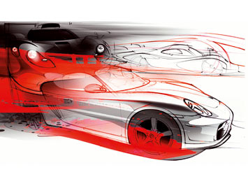 Porsche and Design Car Styling Special Edition No. 31-1/2