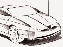 Alfa Romeo Design Sketch