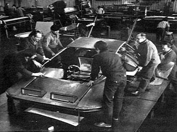 Ferrari 512 Modulo - Prototype assembly