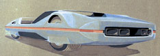 Ferrari Modulo - design sketch