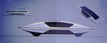Ferrari Modulo sketch