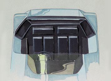Ferrari Modulo - Interior Design