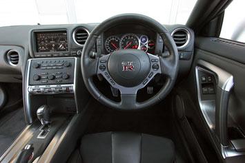 ... Nissan GT R   Interior