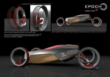 Kumho Epoch Concept - Rendering