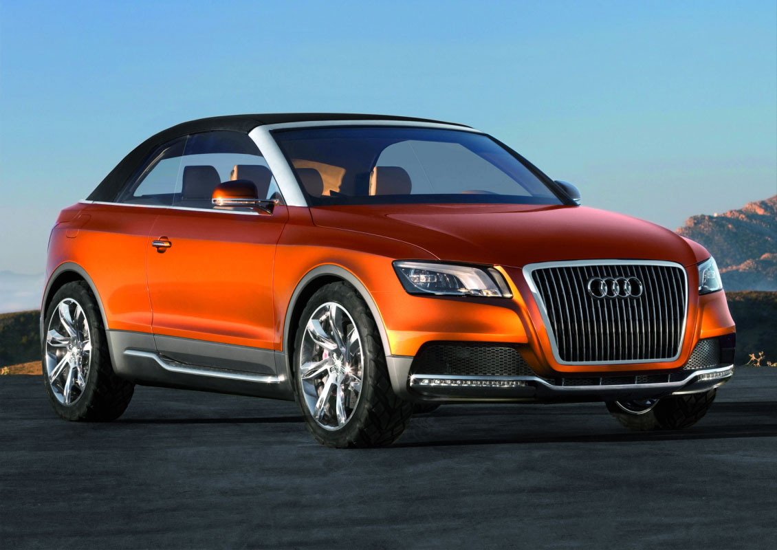 the Audi A4 Cabriolet's