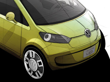 VW space up! blue concept - design study
