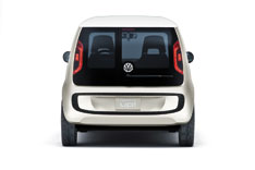 VW space up! blue concept - rear view