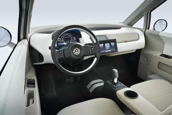 VW space up! blue concept - interior