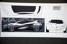 Mazda Design Challenge - reference drawings